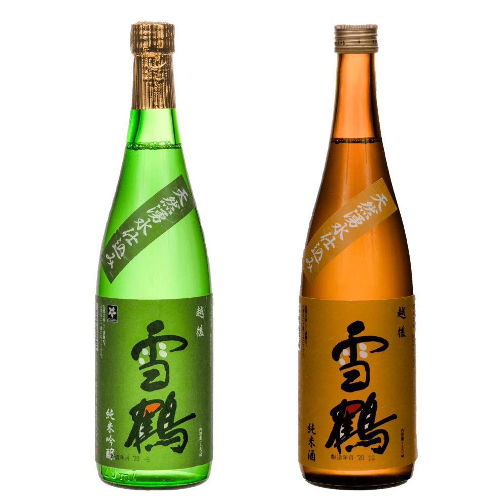 雪鶴純米&純米吟醸