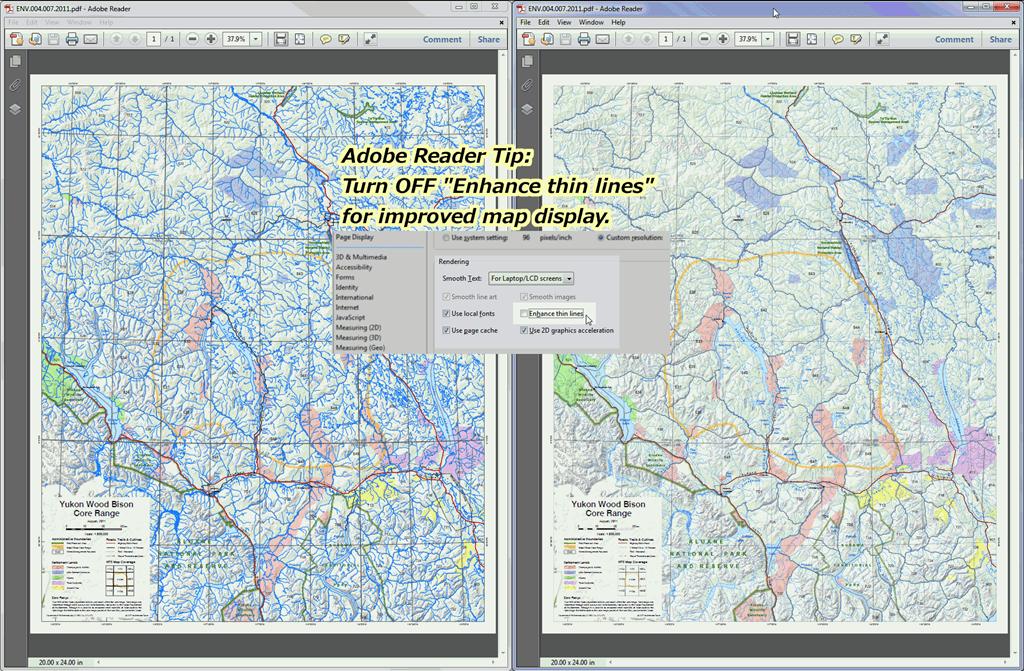 Improve Adobe Reader Map Display « Yukon GIS