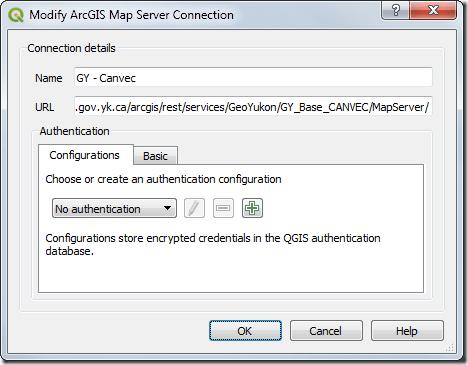 QGIS and Mapservices gov yk ca #2 « Yukon GIS