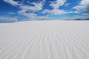 Les plus beaux endroits à visiter une fois dans sa vie: White Sands National Monument, Nouveau Mexique aux USA