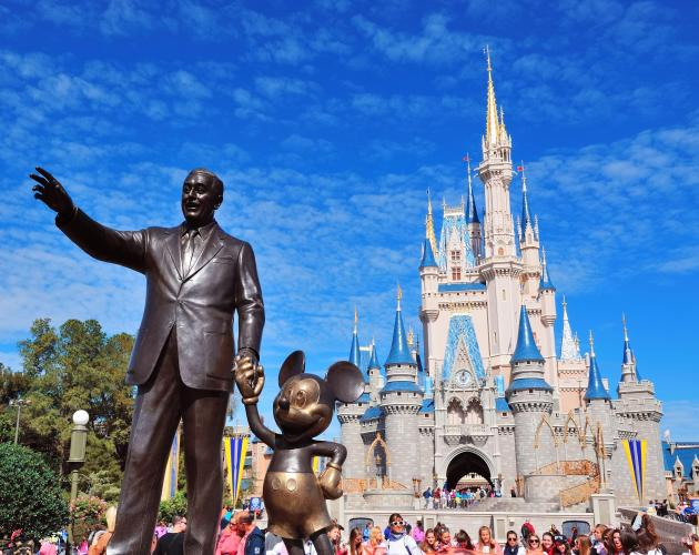 Flight deal from Burlington to Orlando starting at only $66 USD ($88 CAD) R/T