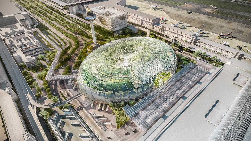 L'aéroport Changi de Singapour, toujours no.1