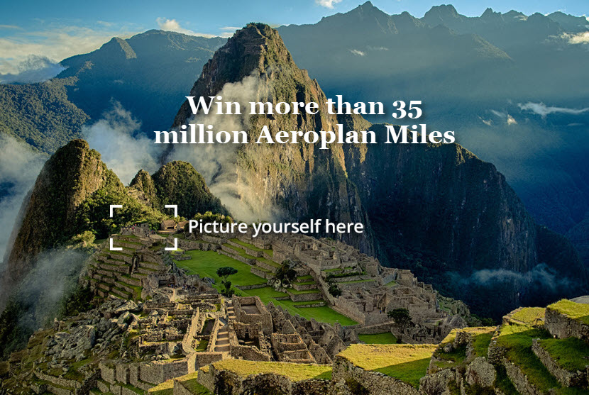 Air Canada Celebrates Aeroplan's 35th Anniversary with Biggest Contest Ever, Allowing Members to Win more than 35 Million Miles