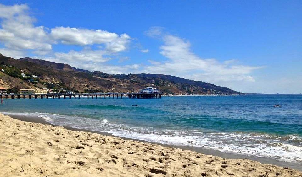 Une journée à Malibu, en Californie