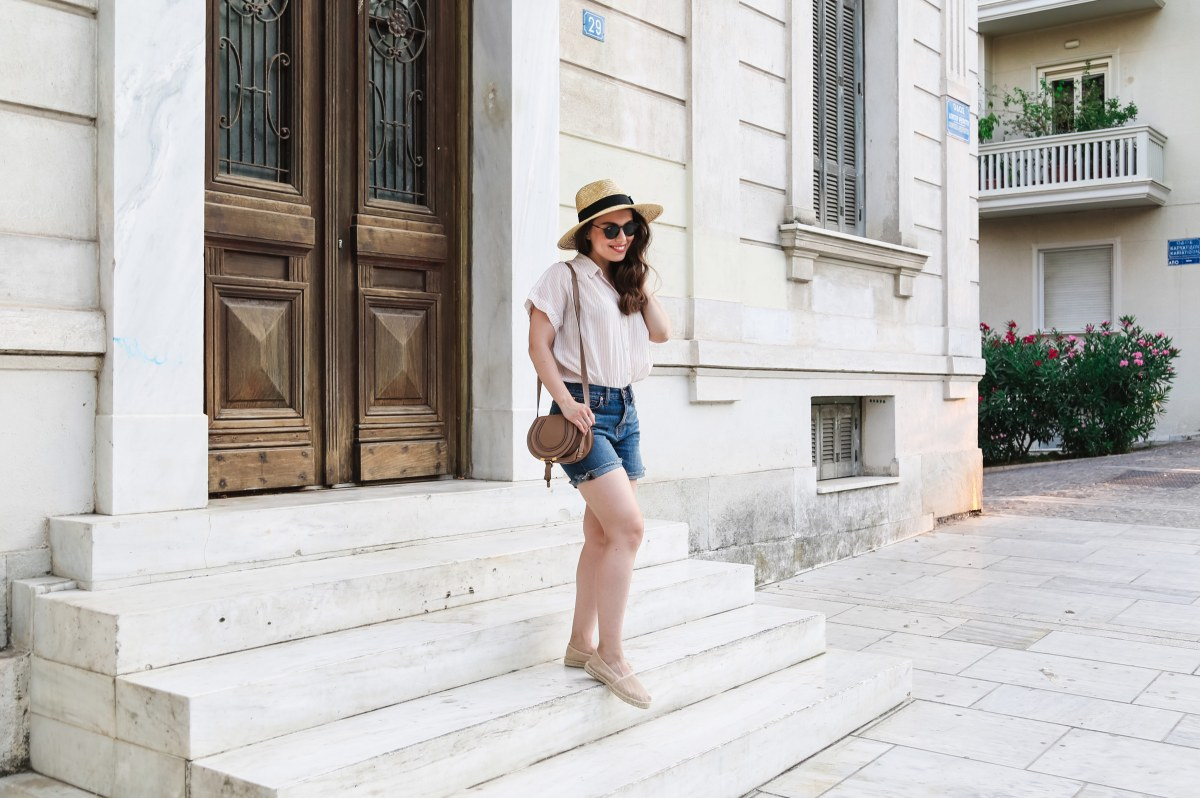 What to Wear When It's Hot Outside, or One of My Vacation Summer Outfits