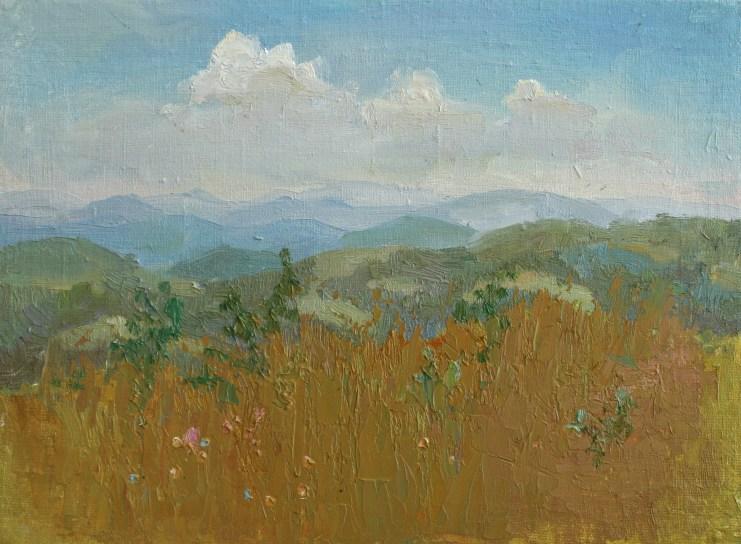 Landscape 30*40 сm. oil on canvas. 200€