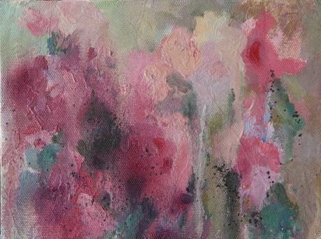 Bouquet. oil on canvas 40*30 сm. 300€