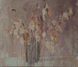 White magnolia 40-50cm. oil on canvas. 300€