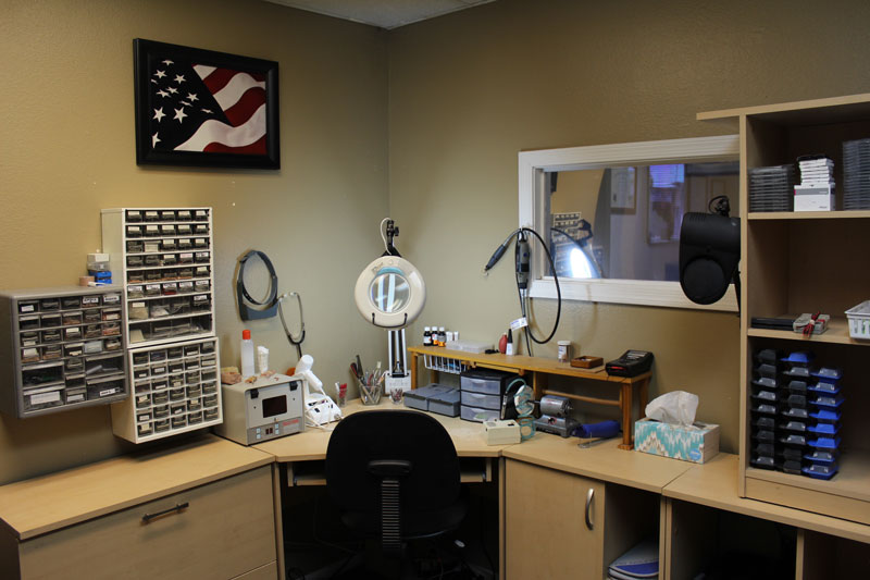 burgess hearing aids' back office