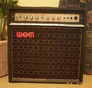 WEM Dominator valve amplifier