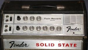 Fender Twin Reverb Valve Guitar Amplifier