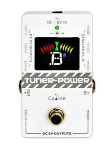 CP-09 Caline Guitar Tuner and Effect Power Supply Pedal