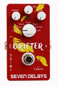 CP-37 Caline Drifter Seven Delays Guitar Effect Pedal