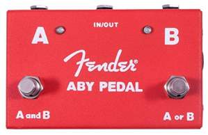 Fender ABY Pedal Switch Between Two Amps or Guitars