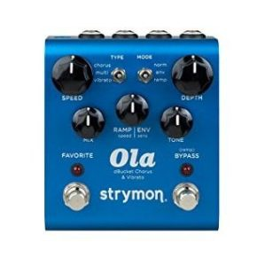 The Strymon Ola dBucket Chorus Vibrato Boutique Guitar Effect Pedal