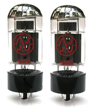 6550 Valve JJ Matched Pair Guitar Amplifier Tubes