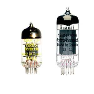 Replacement Valve Kit, Tubes for Marshall JVM210 JVM410 JVM2210 JVM4211 BLACKSTAR HT 5 amplifiers that use ONE 12BH7 AND ONE ECC83 12AX7 TUBE
