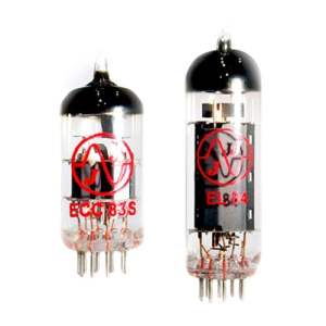 Voc Rock (JJ RE VALVE KIT) For VOX AC4TV amplifiers that use ONE EL84 AND ONE ECC83 aka 12AX7 TUBE