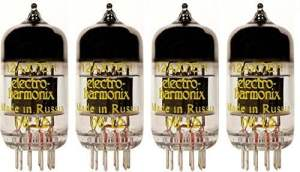 Electro-Harmonix 12AX7, Matched Quad - Replacement Guitar Amplifier Tubes