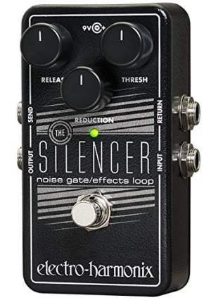 Electro-Harmonix The Silencer Guitar Noise Gate  Pedal Guitar Effect Stomp Box