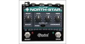 Radial Tonebone North Star Overdrive Guitar Pedal Effect