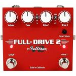 Fulltone Full-Drive Guitar Overdrive Pedal Boutique Guitar Stomp Box Effect USA