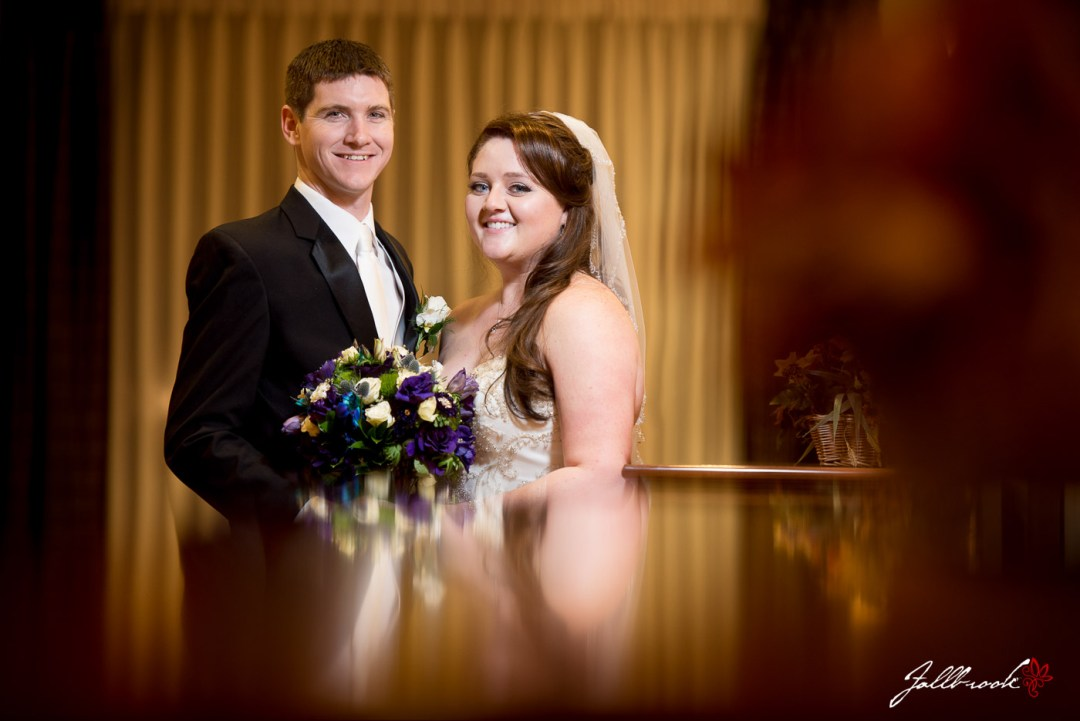 Amy and David gets married at Hilton Garden Inn in Yuma, Arizona.