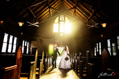 Wedding of Brian and Carolina at the St Paul's Cultural Center in Yuma, Arizona