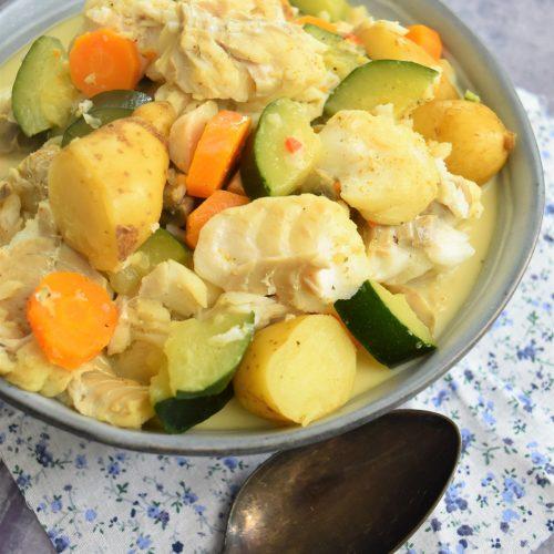 blanquette de poisson au curry