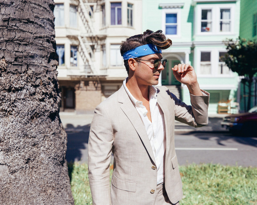 What should men wear to a summer wedding?