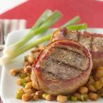 Bacon Wrapped Pork Tenderloin With Texas Caviar Recipe Yummly