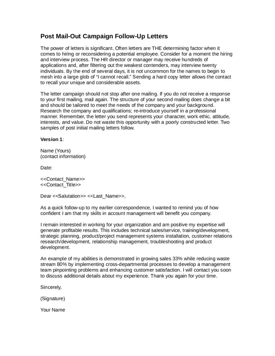 thank letter after job interview samples sample follow letter after sending resume barneybonesus terrific sample follow letter after sending resume how - Resume For Interview Sample