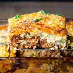 Ultimate keto zucchini lasagna recipe image