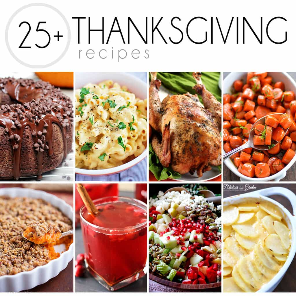 25 Thanksgiving Recipes You Need To Make Yummy Healthy