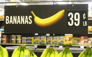 Banana-sign
