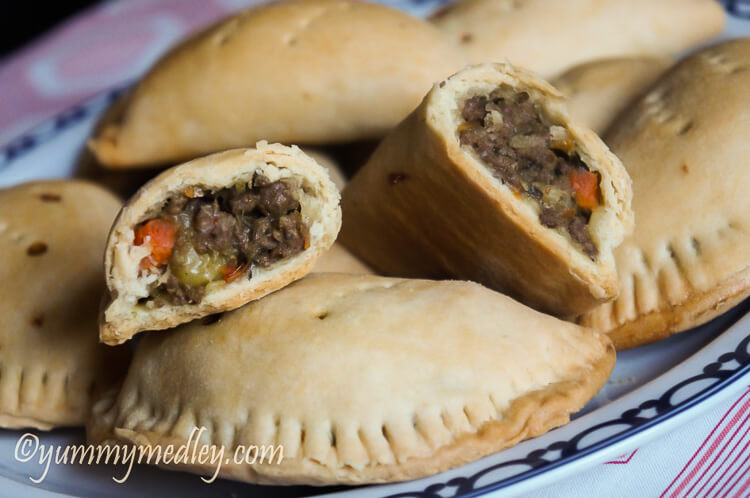 Nigerian Meat pie: Savory Beef Hand Pies - served and delicious!