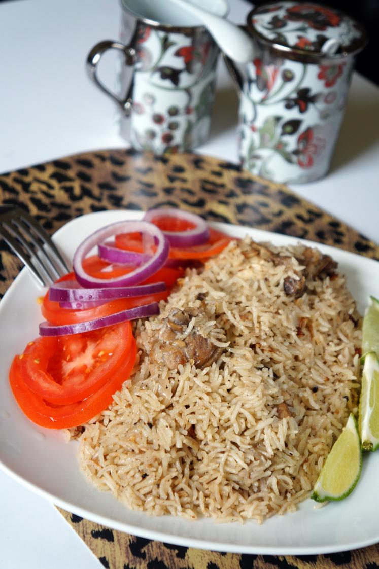 Kenyan Chicken Pilaf: Easy Chicken Pilau Recipe