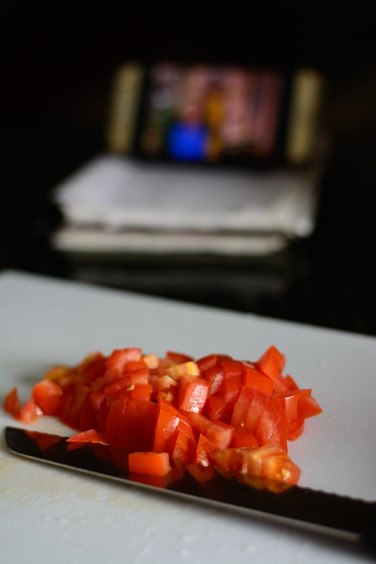 Nigerian Eggplant Stew/Garden Egg Stew (Aubergine Stew) - Tomatoes used in eggplant stew