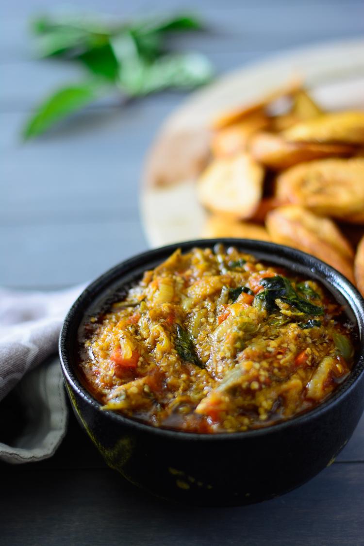 Nigerian Eggplant/Garden Egg Stew