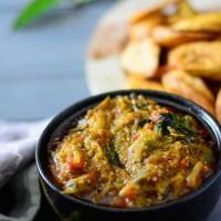Garden Egg Stew (Nigerian Eggplant Sauce)