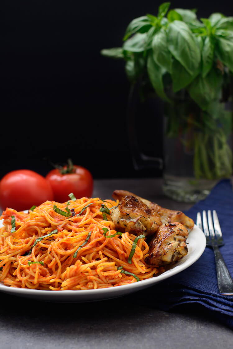 Jollof Spaghetti: Easy, Classy and Delicious!