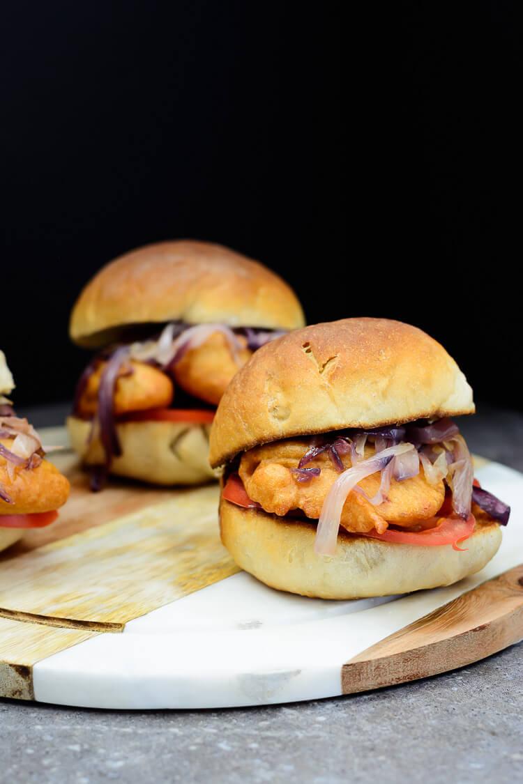 Nigerian Akara Recipe (Accara/Acaraje): Black Eyed Pea Fritters - 3 delicious Akara burgers