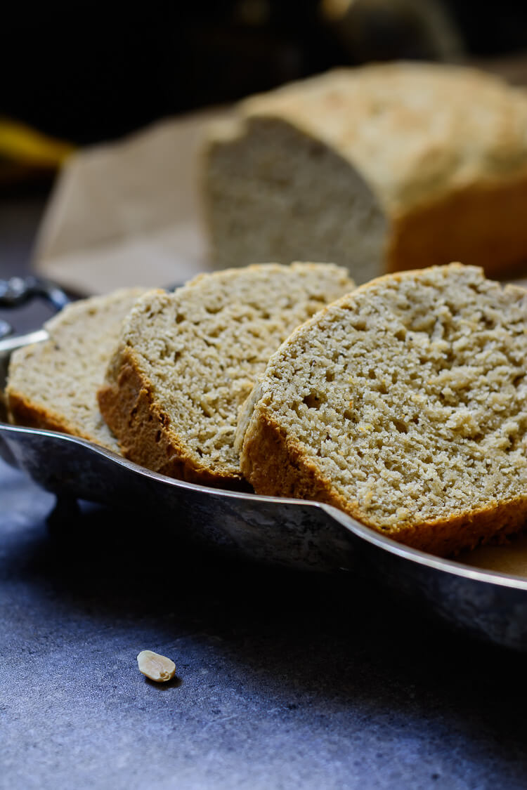Easy and Mouthwatering Vegan Plantain Bread