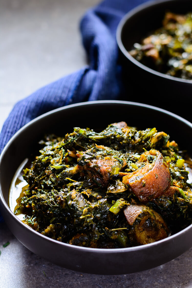 Nigerian Afang Soup: A Delicious Ibibio Vegetable Stew