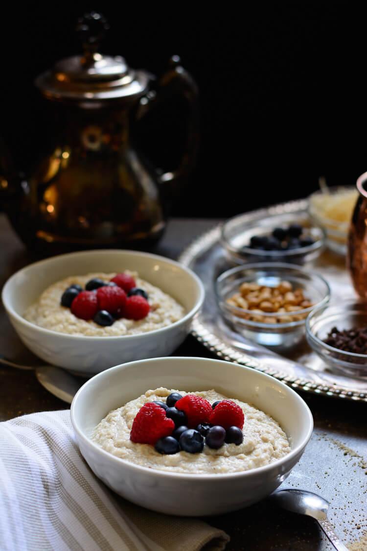 Fonio Cereal/Acha Pudding