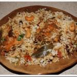 Spicy Kerala Style Fish Biriyani