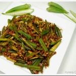 Bhindi / Okra / Vendakka Masala
