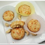 Cashew Cardamom Coconut Cookies