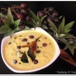 Madhura Curry / Madhura Pachadi / Pineapple – Munthiri Pachadi