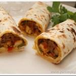 Easy Chicken Kathi roll – Kerala Style